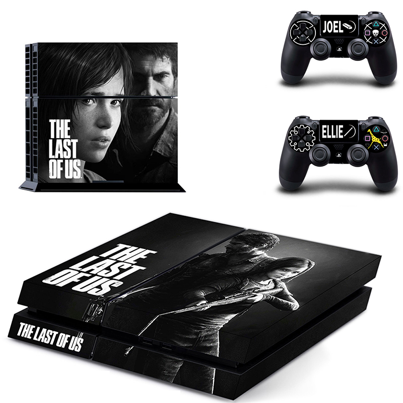 2017 New Cover Decal PS4 Skin Sticker For Sony PlayStation Console & 2 Controller Skins Game Accessories