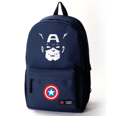 Sports Double Shoulder Back School Bag American Captain Marvel Dc Avengers Cool Y Geek Fashion Must Have 2017 New In Backpacks From Luggage Bags