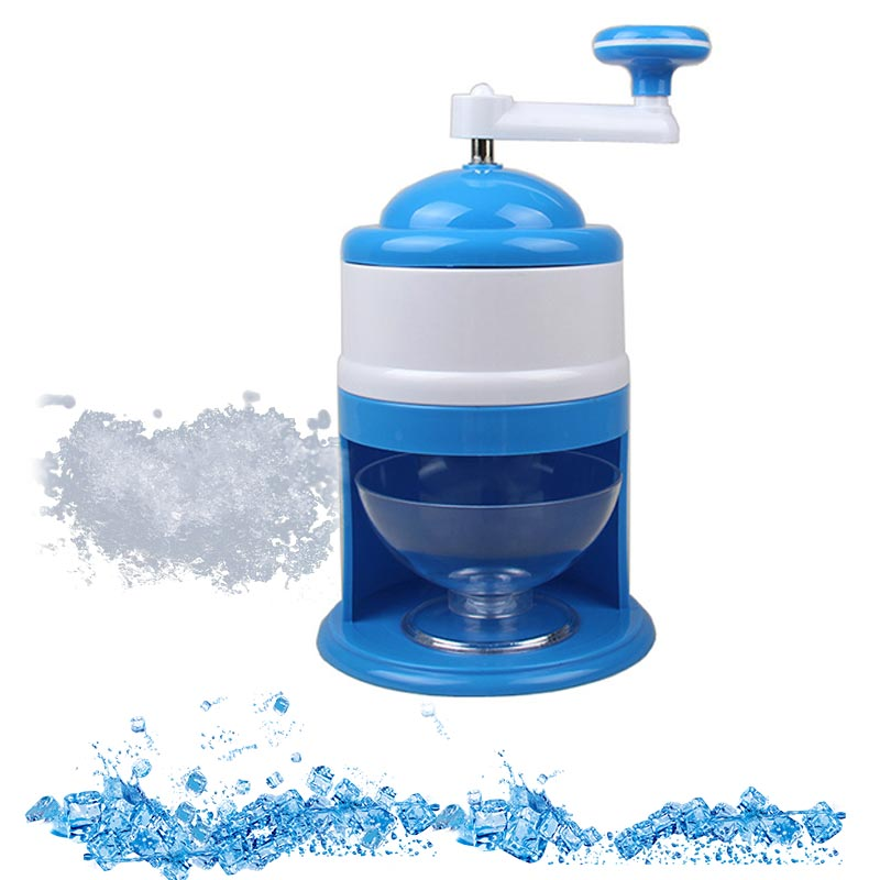 1PC Household Ice Breaker Hand Crank Kitchen Tool Ice Crusher Shaver Snow Cone Maker Machine Household Kitchen Tool image