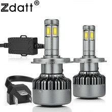 Zdatt Headlights Led H4 H7 H11 9005 H8 Bulb Light 12v 6000k 100w CSP Chip Leds Bulbs Lights Car Automobiles Motorcycle Auto