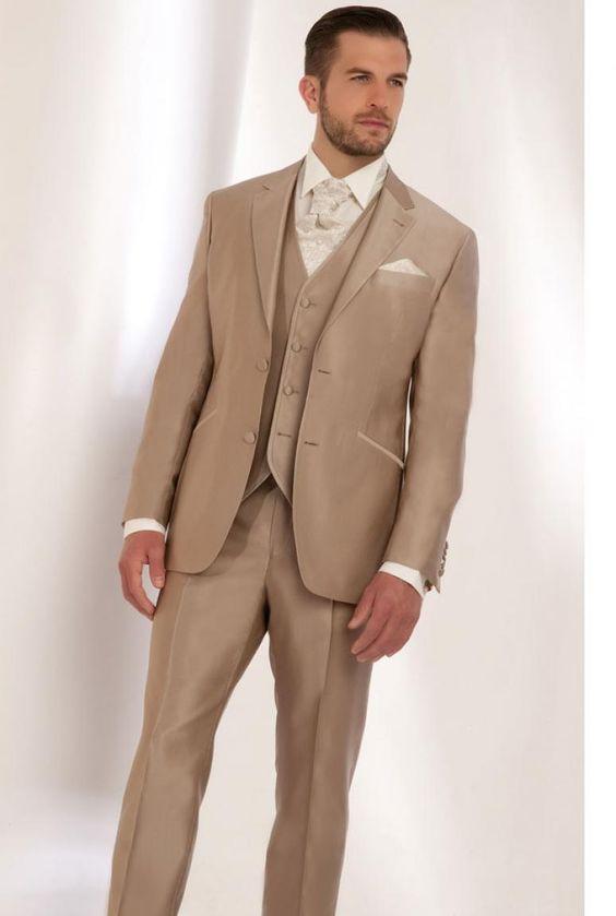 latest coat pant designs brown men wedding suits slim fit skinny 3 piece tuxedo custom classic. Black Bedroom Furniture Sets. Home Design Ideas
