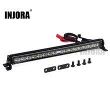 Trx4 de lámpara LED de techo luz Bar para 1/10 RC Crawler Traxxas Trx-4 Trx 4 SCX10 90027 y SCX10 II 90046, 90047