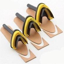 1 ШТ. Leather Craft DIY Нержавеющей Стали Кожа Инструменты V Форма 30 мм 35 мм 40 мм