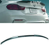 UHK For BMW Rear Spoilers For 4 Series F32 V Style Auto Spoiler Carbon Fiber Spoyler Decoration Car Wings Accessories