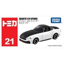 Takara Tomy Tomica 1/57 ABARTH 124 ÖRÜMCEK Metal Diecast Araç Modeli Oyuncak Araba Yeni #21