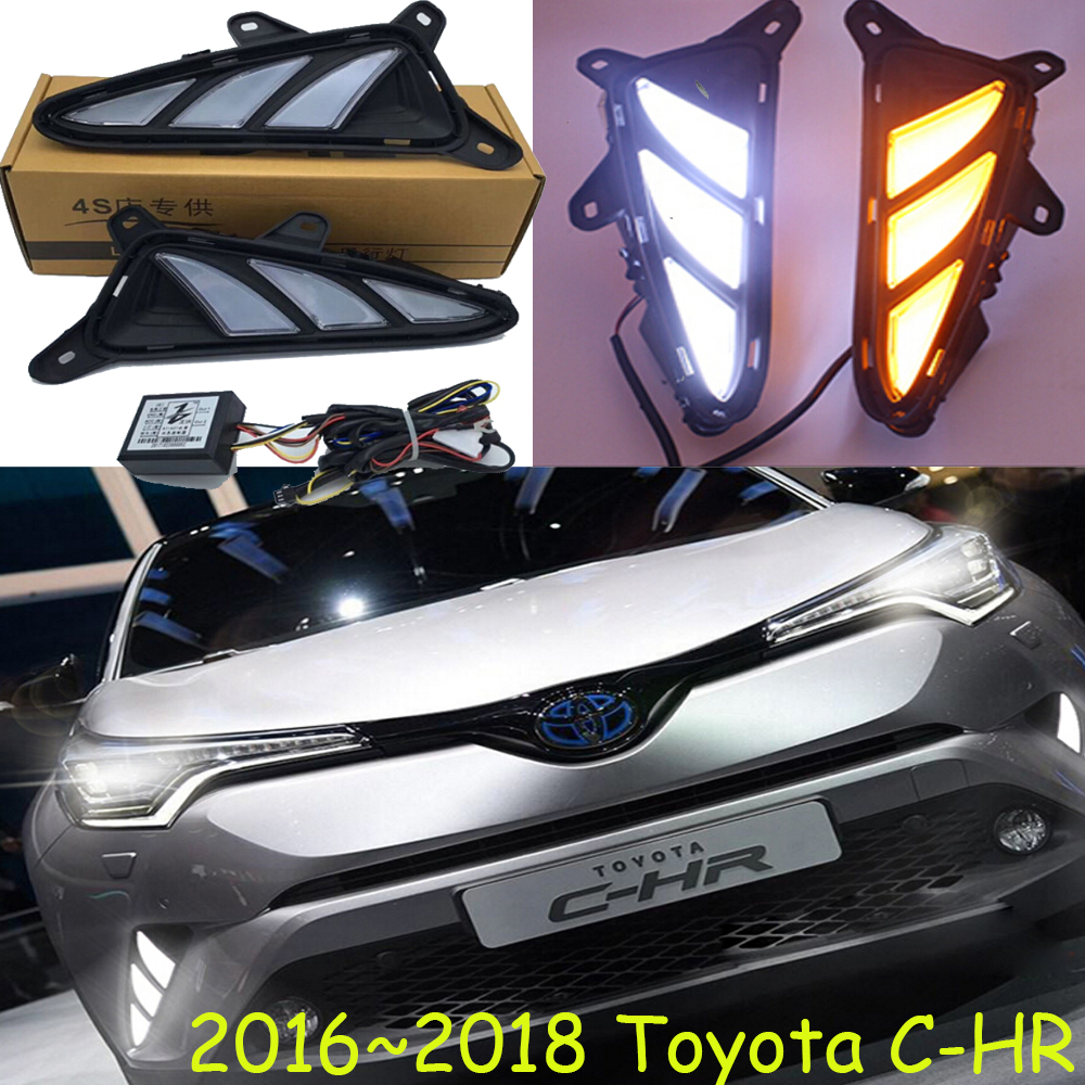 LED,2016~2018 CHR day Light,CHR fog light,CHR headlight;vios,corolla,camry,Hiace,tundra,sienna,yaris L,CHRTaillight,C-HR