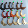 high temperature heat resistant 15CM Doll Hair 1/3 1/4 1/6 BJD SD OD doll big wave DIY wigs