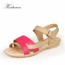 Hosteven Women Sandals Fashion Female Shoes Summer Casual Comfortable Ladies Flats Woman Sweet Soild
