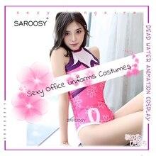 Japanese Sakura Kimono Open Crotch Bodysuit