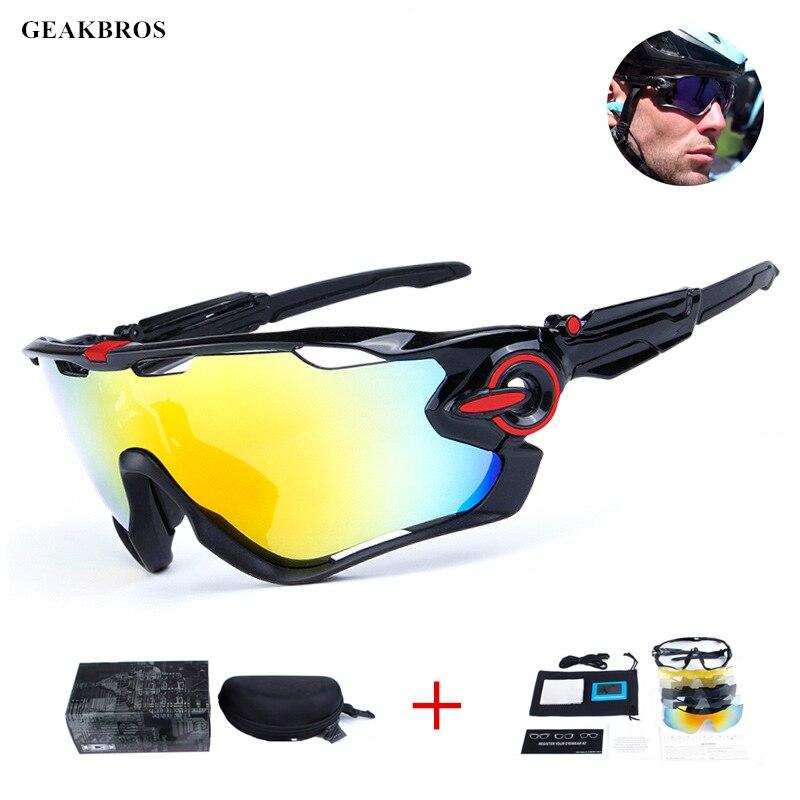 5 objektiv Polarisierte Gläser Radfahren Im Freien Sport Radfahren Sonnenbrille Männer UV400 Breaker MTB Radfahren Brillen Fahrrad Brille