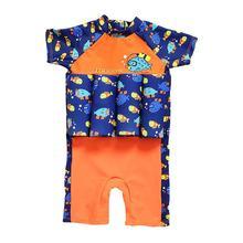 Купальный костюм с рыбами из мультфильмов, жилет, съемный защитный плавающий плавучие купальные костюмы на лето для девочек и мальчиков, для отдыха, Swiminng