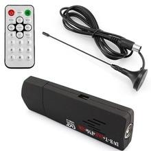 Numérique USB TV FM + DAB DVB-T RTL2832U + R820T Soutien DTS Tuner Récepteur et dvb t HDTV tv Bâton dongle avec Récepteur antenne