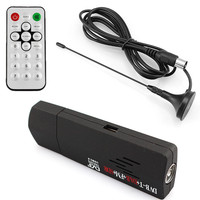 Digital USB TV FM DAB DVB T RTL2832U R820T Support SDR Tuner Receiver Dvb T HDTV