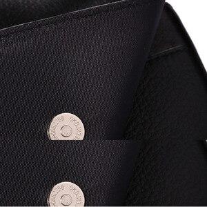Image 4 - حقيبة جراب للهاتف المحمول/خلية عسكرية من جلد البقر للرجال مزودة بحزام للخصر