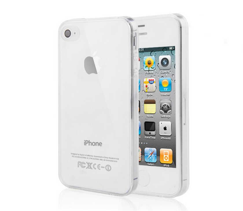 Ультра тонкий чехол для телефона для iPhone 5 5S SE 5C 6 6S 7 plus 7 plus Clear Trasparent кремния Мягкий ТПУ задняя крышка защитная оболочка