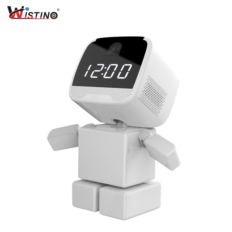 Wistino 960P Robot IP Camera WIFI Baby Monitor 1.3MP Wireless CCTV Audio PTZ IR Night Vi ...