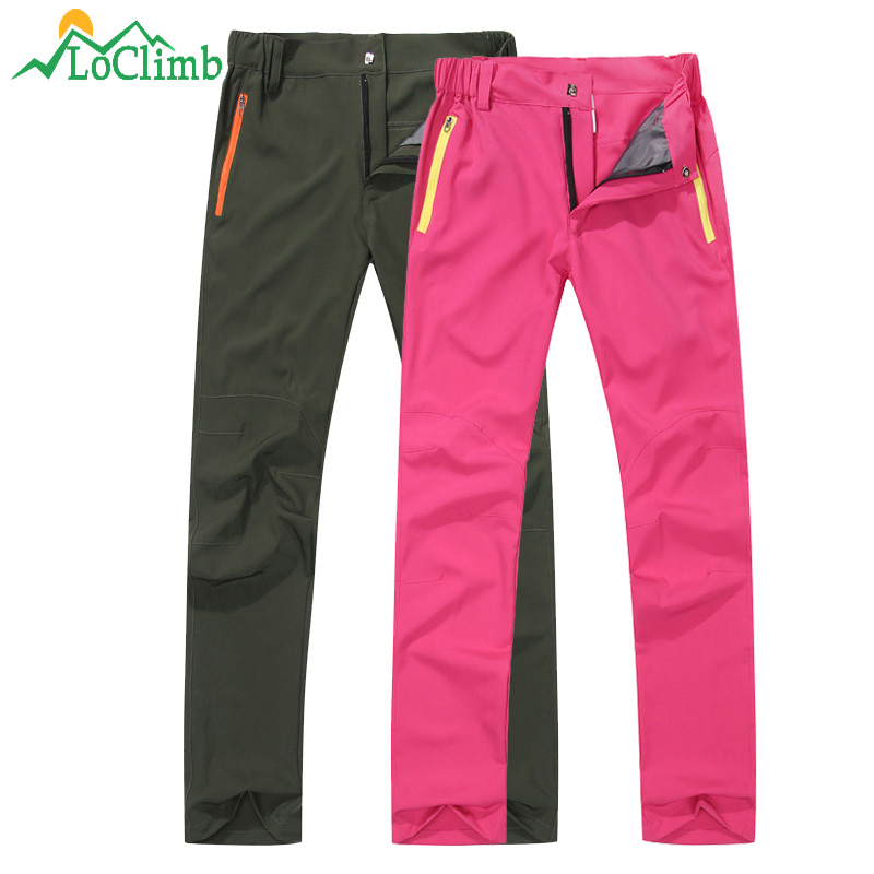 LoClimb Outdoor Hiking Pants Men/Women Summer Ultra Thin Quick Dry Trousers Men's Mountain Climbing/Camping/Trekking Pants AM377