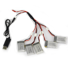 High Quality 3.7V 650mah Li-po Battery for SYMA X5C X5C-1 X5SW X5SC RC Quadcopter Spare Parts Power Adapter Charger