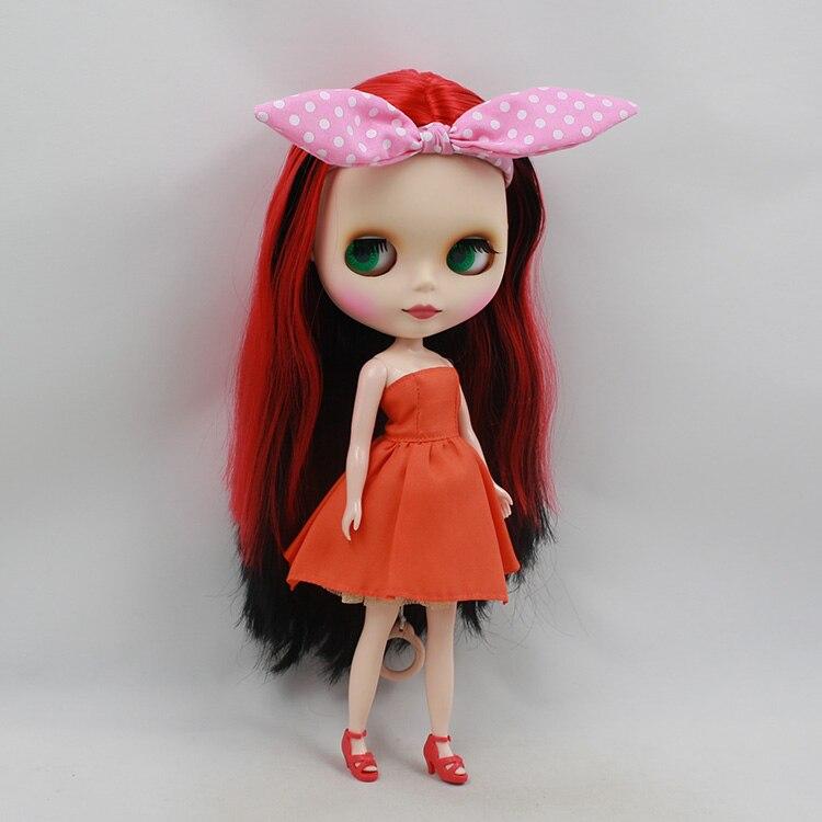 ФОТО Free shipping Blyth nude doll boneca cabelos longos 12 fashion dolls in dolls toys for children girls