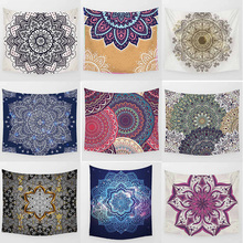 Hot sale fashion mandala pretty floral flowers macrame  pattern wall hanging tapestry home decoration tapiz pared