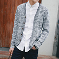 Sweater Men Autumn Winter Casual Stand Collar Knitting Patterns Mens Sweaters  Slim Fit Cardigan Masculino  S201