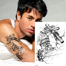 Braço Cruz Tatuagem A Um Preço Incrível Super Ofertas Em