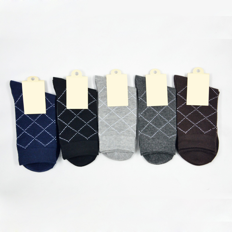 10Pair Breathable Male Sock Brand Funny Happy Socks Mens Geometric Socks Winter Warm Calcetines Hombre Thermal Mens Socks Art