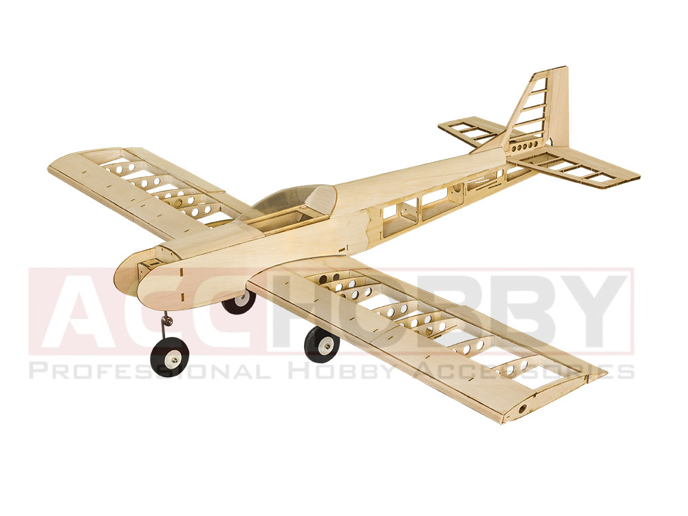 Balsawood Airplane Model Laser Cut Training Trainer T30 1400mm Balsa Building Kit Woodiness model WOOD PLANE