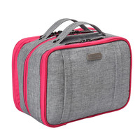 Beautician Necessary 3 Layer Cosmetic Bag Box Women Men Beauty Makeup Case Large Make Up Toiletry Kit Storage Wash Organizer New