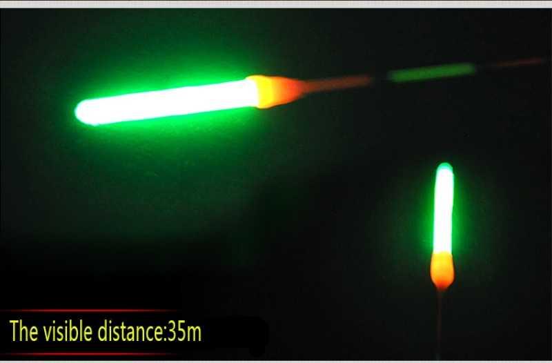 15 cái/lốc 4.5 mét * 36 mét Câu Cá Huỳnh Quang Ánh Sáng thanh Ánh Sáng Ban Đêm Rod Float Đèn Tối Glow Stick