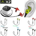 Продвижение 6 Цветов На Складе! спортивные Беспроводные Джейберд X2 Bluetooth Шейным Наушники (Альфа Лед Заряда Ураганный Огонь Полночь)