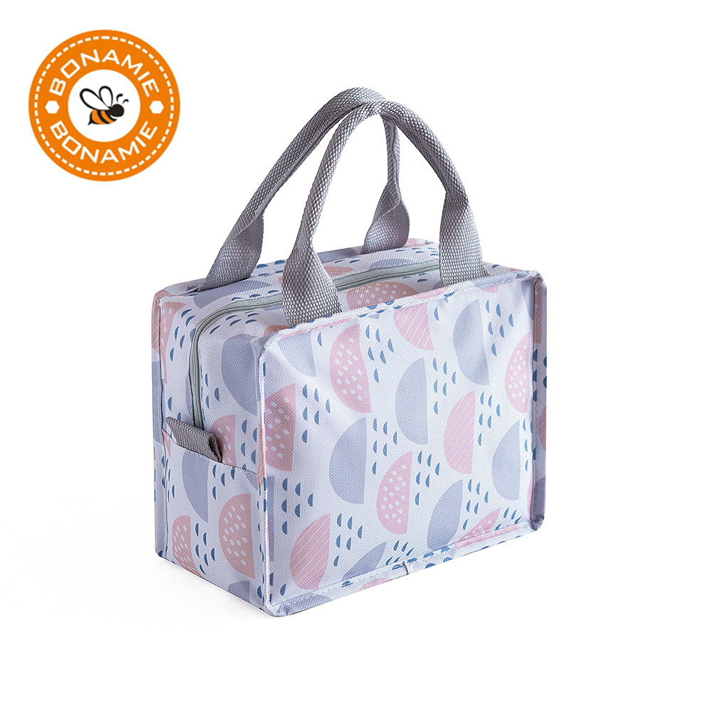 BONAMIE Waterproof Food Fresh Keep Lunch Box Bag Milk Warmer Picnic Portable Travel Storage Thermal Insulated Fashion Cooler Bag