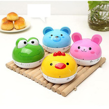 Cartoon Cute Animal Timer Plastic Machine Timer 60min Alarm Clock Kitchen Timer Kitchen Tools For Home A