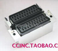 1PCS For Imported Skate Double 42P SCART European Standard TV Cable TV Line Female Plug And