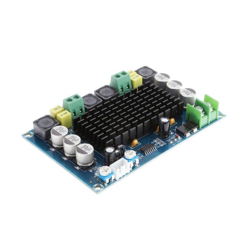 ALLOYSEED DC 12 v 24 v 150 watt * 2 XH-M546 TPA3116D2 TPA3116 Dual Channel class D digital Power audio verstärker bord C3-002