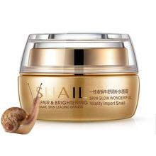 1PC Natural Snail Cream Facial Moisturizer Face Cream Face Skin Care Cream Lifting Firming whitening Anti-aging Moisturizing Gel