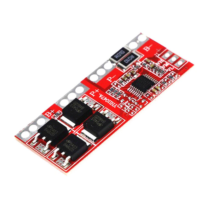 4 Series Lithium Battery Protector Board 30A Large Current Four Series Without Activation Automatically Restore 14.8V 16.8V