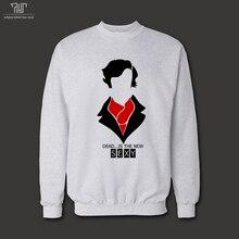 Sherlock dead is new sexy original design men unisex 360gsm 10.3oz  pullover sweatershirt 82% cotton fleece free shipping