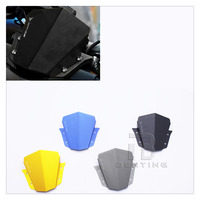 4 Colors Motorcycle Aluminum Windshield Windscreen For Yamaha MT 09 MT 09 2014 2015