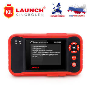 Launch CRP129 resets Code Scanner Launch Creader viii SAS Oil Service Light