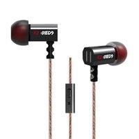 KZ Original ED3 ED4 ED9 In Ear 2 Patents Monitor Earphone High Quality With Microphone Ear