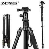 New Zomei Z688 Aluminum Professional Tripod Monopod + Ball Head For DSLR Camera / Portable SLR Camera stand / Better than Q666
