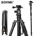 Nova Zomei Z688 de alumínio Professional tripé monopé + bola cabeça para DSLR Camera portátil / SLR suporte da câmara / melhor do que Q666