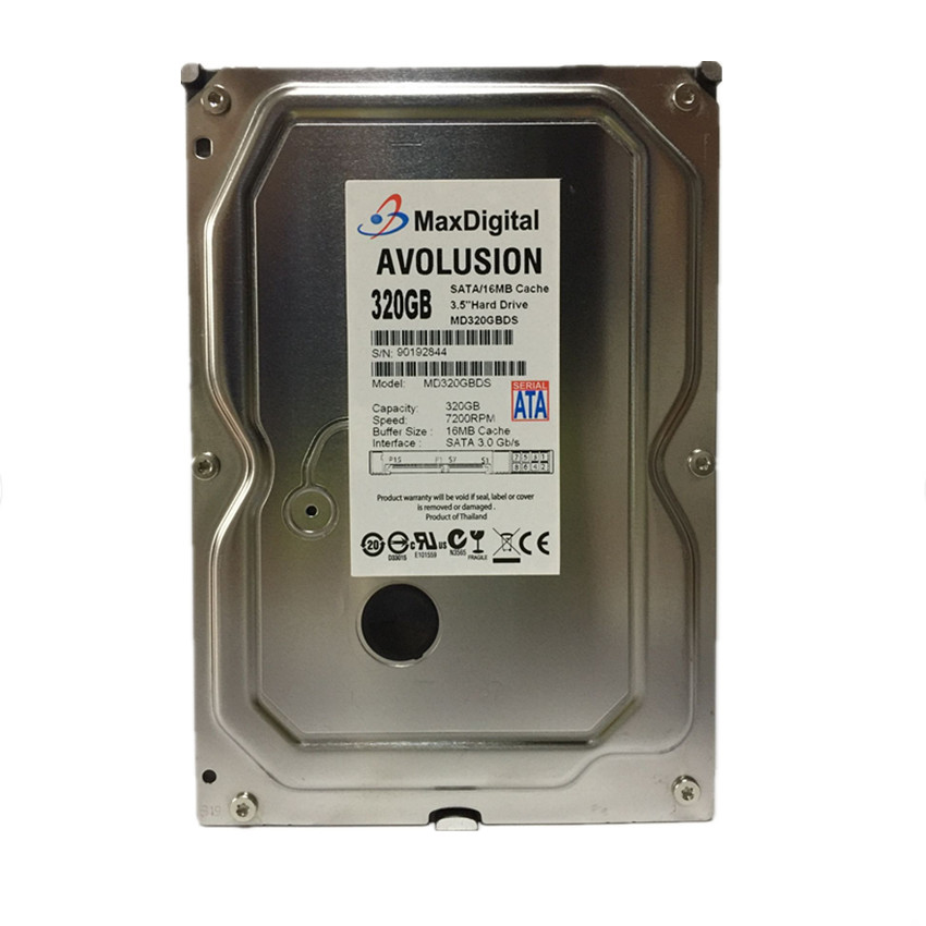 320GB HDD SATA 3.5 Enterprise Grade Security CCTV Hard Drive Warranty for 1-year 395501 002 601452 001 mb0500cbepq 500 gb 7 2k sata 3 5inch 1 year warranty
