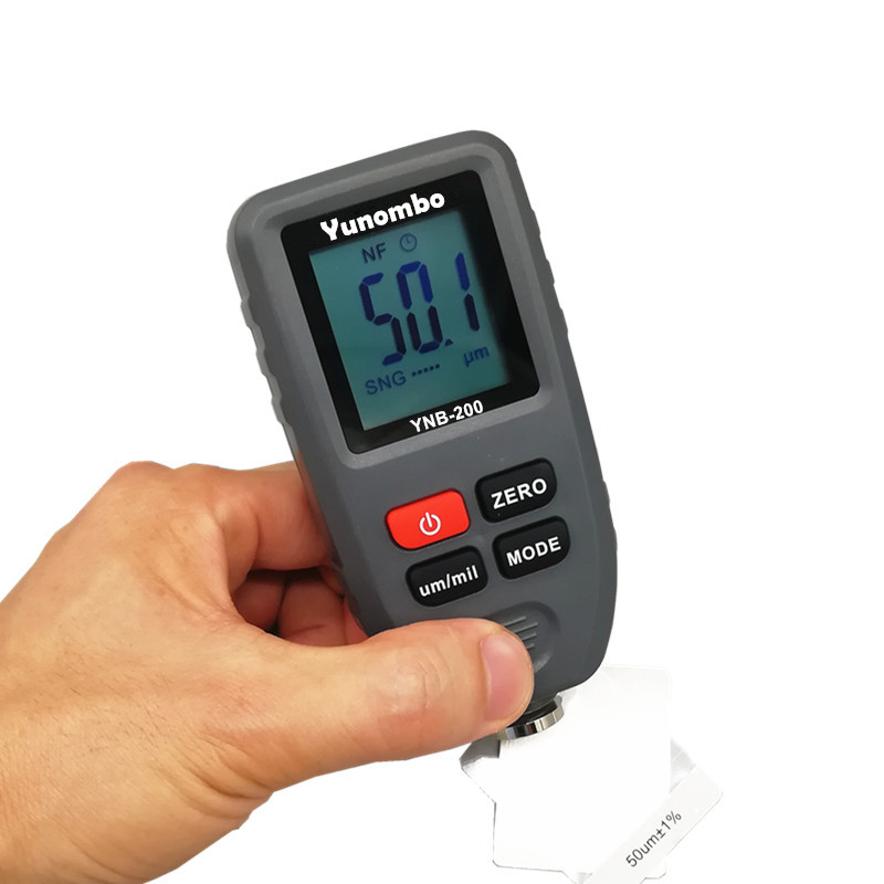 Digital LCD Thickness gauge paint coating Digital Car Paint Thickness Meter 0 1300um Width Measuring tester