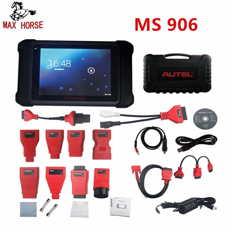 Autel MaxiSys MS906 OBD2 Scanner Automotive Diagnostic tool MS 906 key programmi