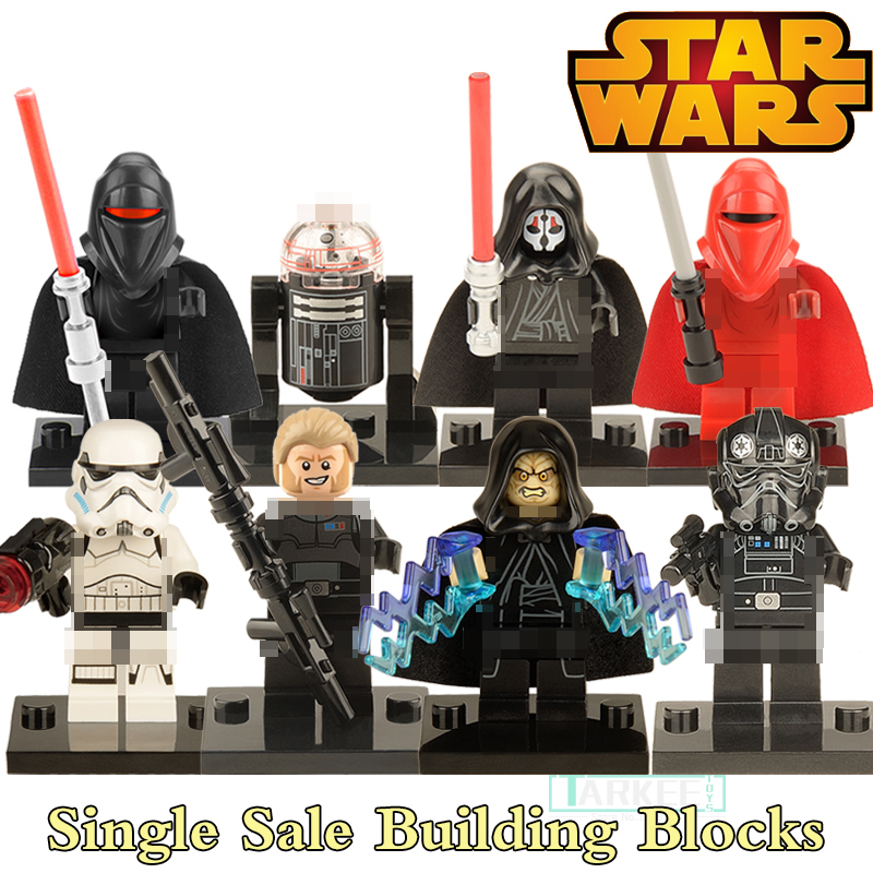 Star Wars Black Shadow Stormtroopers Kallus R5D4 Robot Building Blocks Children Classic Bricks Kids DIY Toys Hobbies Figures building blocks agent uma thurman peeta dc marvel super hero star wars action bricks dolls kids diy toys hobbies kl069 figures