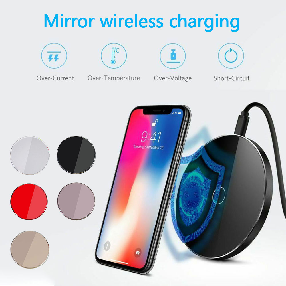 Chargeur de téléphone pour Huawei Mate 20 Pro W3 P30 Pro chargeur sans fil USB chargeur pour Xiao mi mi x 2 s mi x 3 mi 9 Charge sans fil - 5