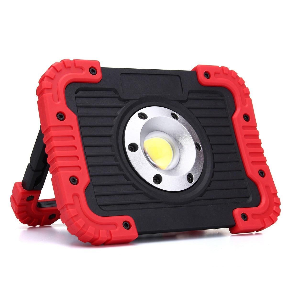 COB 20 Led-strahler LED Arbeitslicht Wiederaufladbare Griff Taschenlampe Outdoor-LED Flutlicht Camping Lampe