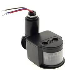 Светодиодный движения Сенсор 220 85 V-265 V автоматический инфракрасный PIR инфракрасный датчик 180 градусов вращающийся открытый таймер